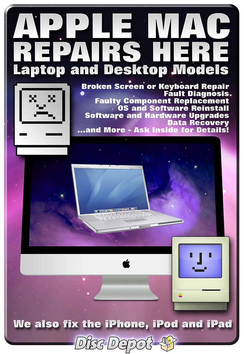Mac Repair Dundee Amp St Andrews Poster Apple Mac